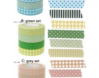 Classiky Washi Tape Mix Set