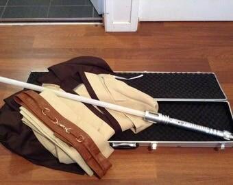 Jedi/Sith Robes+Saber and Hardcase Bundle