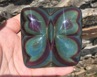 Rainbow Obsidian Butterfly - Mexico