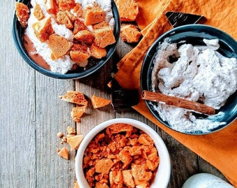 Warm Cinnamon Honeycomb Candy - Gluten free!