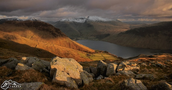 Wast Water from Middle Fell [Photographic Print]