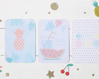 Card mailing fruity summer Melli Confetti