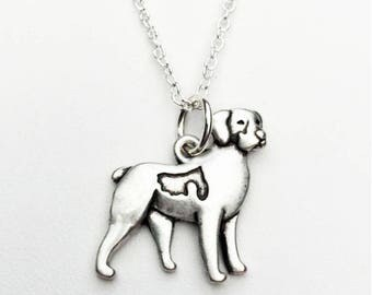 Brittany Spaniel Charm Necklace