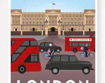 Buckingham Palace – London England