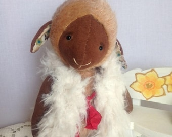 Lamb Lamb doll Lamb toy Teddy Teddy sheep Teddy lamb Lamb teddy Stuffed teddy Sheep doll Sheep plush