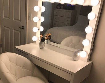 XL Vanity mirror with dimmer.