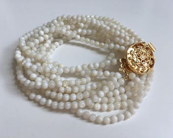 Mother of Pearl Necklace (Summer Collection)