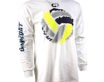 Shock Ball Long Sleeve Volleyball T-Shirt, Volleyball Shirts, Volleyball Gift - Free Shipping!