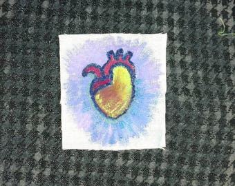 Colorful Heart Patch
