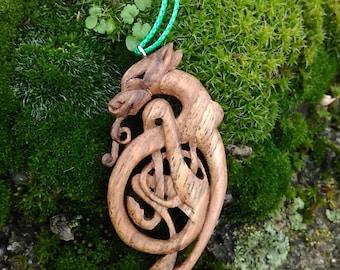 "Pendant ""Celtic Wolf"""