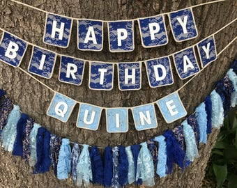 Custom Name Birthday Banner, Birthday Decoration, Happy Birthday Sign