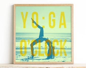 Meditation Artwork - Yoga Poster Print - Yoga Wall Print - Yoga Bedroom Decor - Yoga Poster - Yoga Art for Flat - Yoga Decor - Yoga Studio