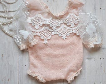 newborn romper, newborn photo prpos, vintage body, newborn girl body, newborn photoprop girl