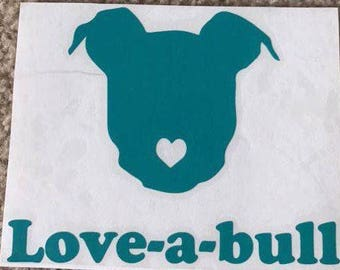 Love-a-bull Decal
