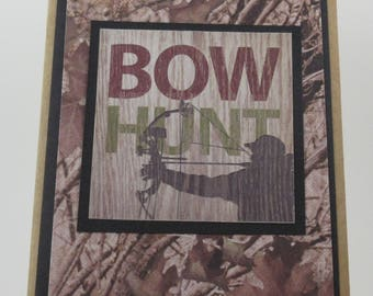 Bow Hunt Birthday Card