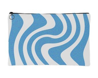 Blue Waves pouch