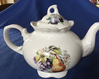 Vintage Arthur Wood & Son Teapot Staffordshire England