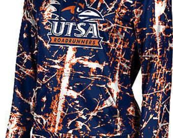 Women's The University of Texas at San Antonio Distressed Pullover Hoodie (UTSA)