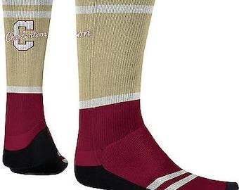 Spectrum Sublimation Men's College of Charleston Classic Sublimated Socks (COFC)