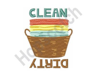 Laundry - Machine Embroidery Design