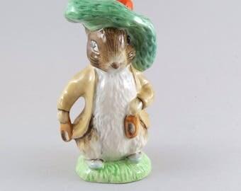 Royal Albert Beatrix Potter Figure Benjamin Bunny  Mint