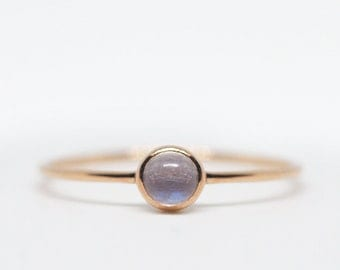 moonstone ring, moonstone ring gold, rose gold ring, moonstone engagement ring, dainty ring, delicate ring, promise ring, rainbow moonstone