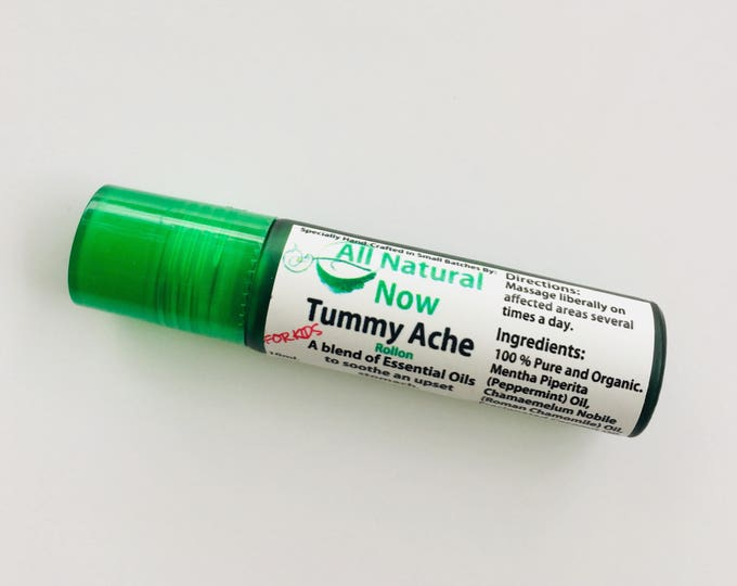 Tummy Ache for Kids | Pure Essential Oils