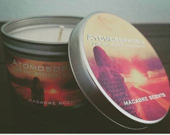 Atomosphobia - The fear of Atomic Explosions. 8oz candle