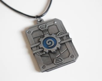 Hearthstone Pack inspired Necklace
