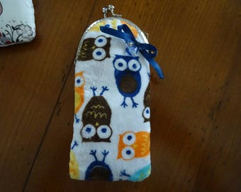 glasses case child owls