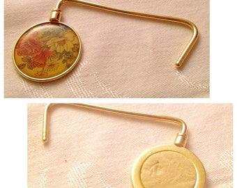 Anniversary Sale Vintage Porcelain Handbag/Purse Hook