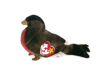 Early the Robin Beanie Baby