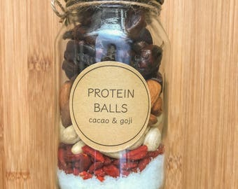 DIY Protein Ball - 500ml jar Vegan Raw