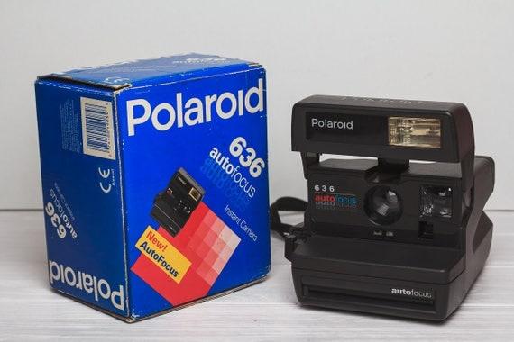 polaroid 636 autofocus 600 film instant camera vintage retro working condition 90 39 s gift for. Black Bedroom Furniture Sets. Home Design Ideas