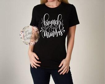 Mimosa women tee//Brunch and Mimosa shirt//summer shirt//popular brunch top//women tee//