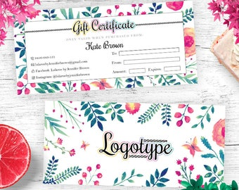 Floral Lula Gift Certificates, Gift Card, Lula Surprise Card
