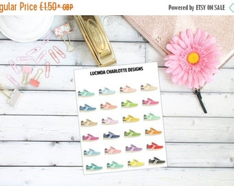 25% OFF Everything Running Shoes  (Exercise, Fitness) - Planner Stickers