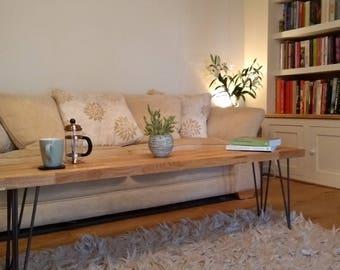 Solid Oak Coffee Table - SLIM