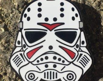 Stormtrooper Jason Mask - Enamel Pin