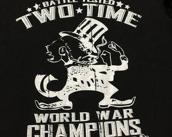 Battle Tested Two Time World War Champs