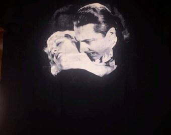 Dracula Love Bite Logo Shirt