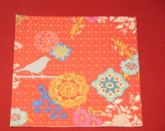 """home deco """"flowers and Blue Bird"""" theme paper towel"""