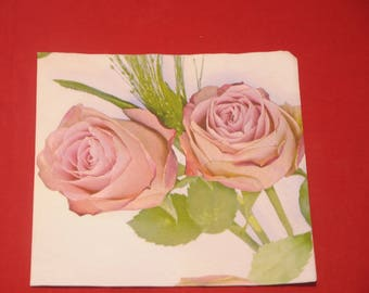 """paper towel theme flowers """"roses"""" """""""