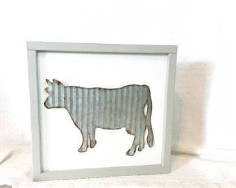 Galvanized Animal Silhouette Signs