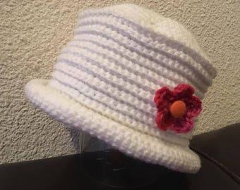 Woolen Hat white 9-12 months