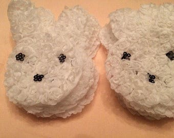 Rosette bunnies - wholesale bunnies - Easter Bunny - supplies - Easter headband material