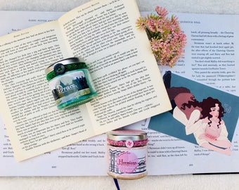 Bookish Character Candle Range - Draco Malfoy (Harry Potter)