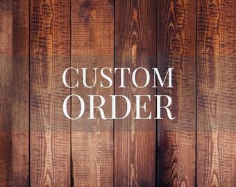 Custom shelf order
