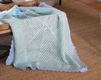 Ready made blanket available for immediate post!