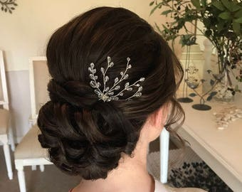 Wedding Hair Pin, Bridal Hair Accessory, Hair Accessories, Hair Pin, Something Blue